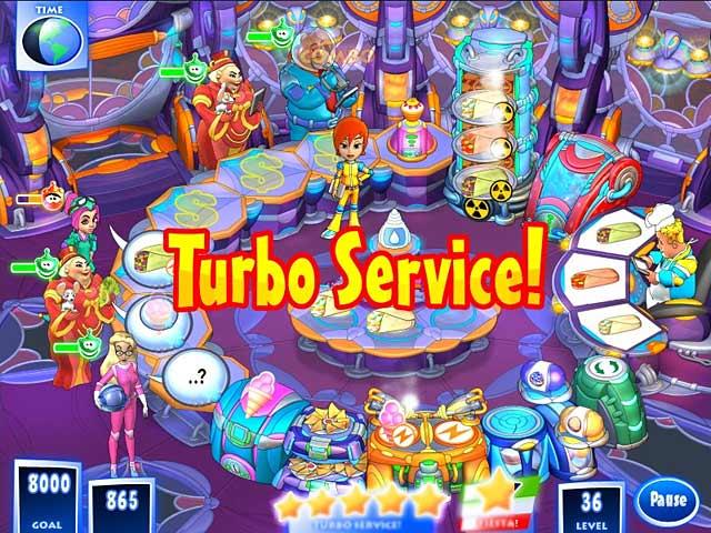 لعبة الطبخ  الرائعة Turbo Fiesta